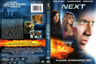 Next DVD Factory SEALED Nicolas Cage Jessica Biel Mint New