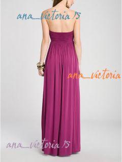 Marciano Guess Delainee Long Maxi Shirred Dress XS s M