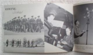 1943 World War WW II Marfa Army Air Force Field Pilot Training Book w