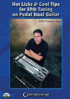 Hot Licks Cool Tips E9TH Tuning Pedal Steel Guitar DVD