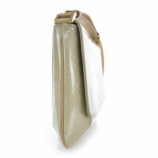 Louis Vuitton Vernis Thompson Street Bag Purse Beige