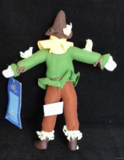 Scarecrow Wizard of oz Warner Bros 10 5 Plush Stocking Stuffer Fr SHP