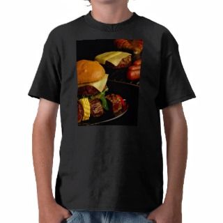Tasty Burgers and kebabs for food lovers Tshirts