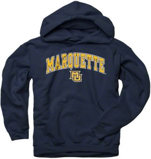 Marquette Golden Eagles Youth Navy Perennial II Hooded Sweatshirt