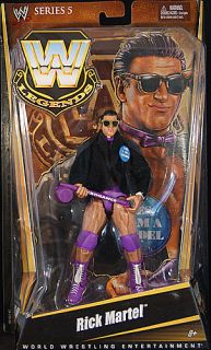 Rick Martel WWE Legends 5 Mattel Toy Wrestling Action Figure