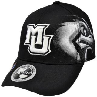 NCAA Marquette Golden Eagles Top of World Black White Flex Stretch Fit