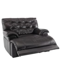 Leather Power Recliner Chair, 46W x 42D x 39H   furniture