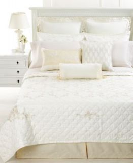 Martha Stewart Chinoiserie Trousseau Embroidered Queen Quilted
