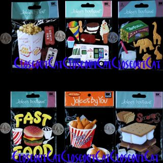 Jolees Fast Food Popcorn Chicken Burger Fries Smores Ice Cream One