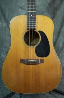 Vintage 1977 Martin D 18 D18 Acoustic Guitar Great Player GRLC583