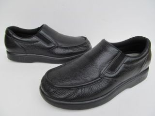 SAS Side Gore Black Leather Loafers Walking Shoes Mens 11 5 W