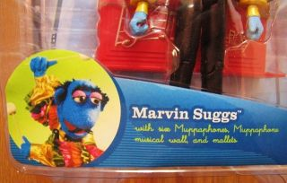 The Muppets Marvin Suggs 5 Plastic Toy Figure New