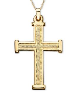 Cross Pendant, 14K Gold Cross   Necklaces   Jewelry & Watches