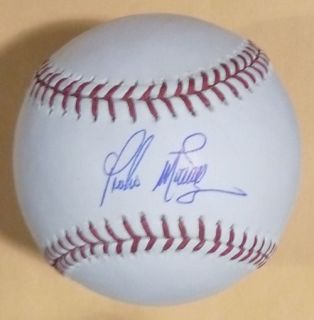 Pedro Martinez Autographed Signed Official OML Baseball Boston Red Sox