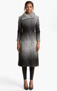 Fall New $898 Alice Olivia Mary Shimmery Coat Size XS S