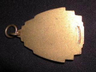 Old Vintage aau U s Track Field Gold Dieges Clust Medal