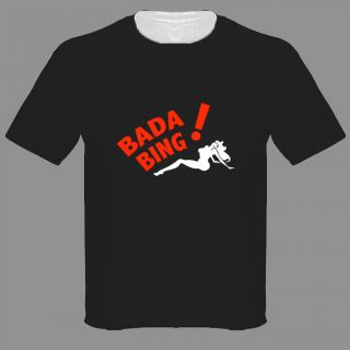 Bada Bing Parking Sopranos T Shirt