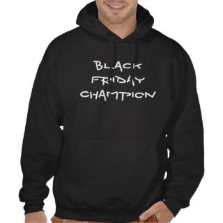 BLACK FRIDAY CHAMPION HOODED SWEATSHIRT