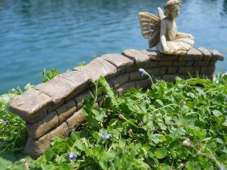 New Dollhouse Miniature Garden Fairy Wall
