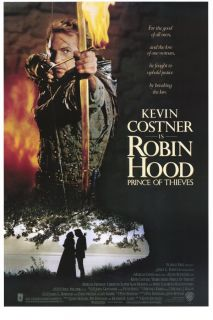 Robin Hood Prince of Thieves Movie Poster Kevin Costner