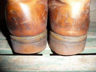 TIMBERLAND Sheepskin Fleece Lined Tan Chukka Leather Work Boots Size 9