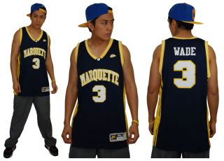 Dwyane Wade Marquette Golden Eagles College Jersey NBA Nike Swingman