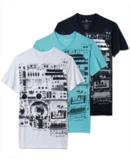 Marc Ecko Cut & Sew Shirt, Special Delivery Thermal   Mens T Shirts