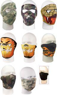 NEOPRENE Cold Weather Adjustable Ski Face Masks