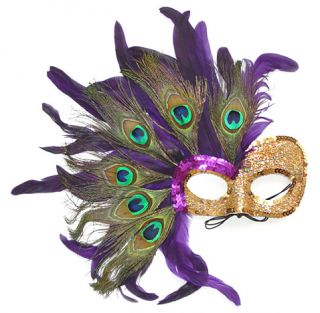 Desire Mardi Gras Feather Mask Costume Party Masquerade Halloween