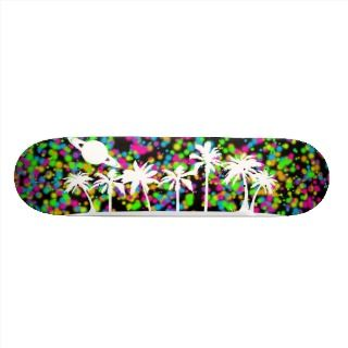 Saturn Sunset Skateboard Pro