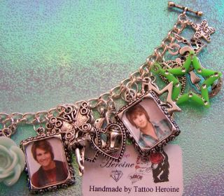 James Maslow Themed Charm Bracelet Handmade By Tattoo.Heroine