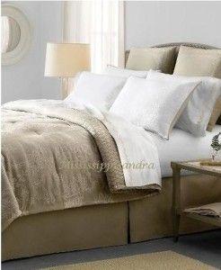 Martha Stewart Jacobean Vine King Comforter Set Khaki