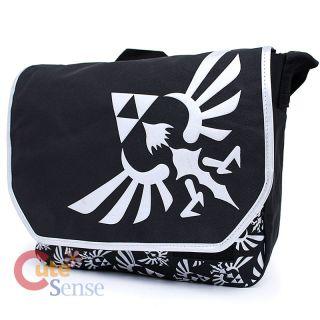 Legend of Zelda Triforce Logo Messenger Bag Laptop Carry Bag