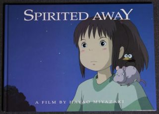 Spirited Away Press Book in English from Japanese DVD Box Mint