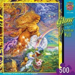 Masterpieces Josephine Wall Wind of Change Glow in The Dark Jigsaw
