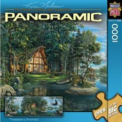 Masterpieces Panoramic Puzzle Freedoms Promise Norlien