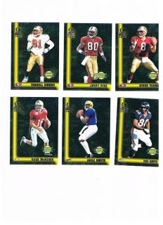 1999 Omega Grid Iron Masters 49ers Terrell Owens