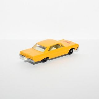 Matchbox 20 Taxi Cab Chevrolet Impala