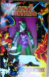 Toy Biz 10 Marvel Universe She Hulk Action Figure