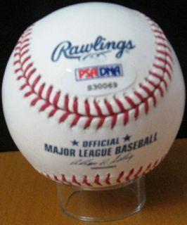 Matt Kemp Signed Official MLB Baseball PSA DNA
