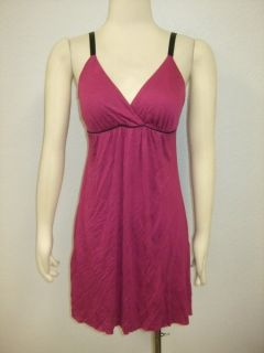 Matty M Anthropologie Magenta Flattering Sun Dress XS