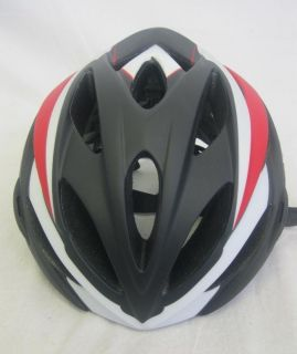 2027GSB Savant Road Bike Helmet Matte Black Red Large for Men