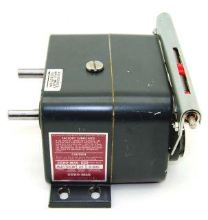 Zero Max JK41 Variable Speed Drive Power Block 0 400