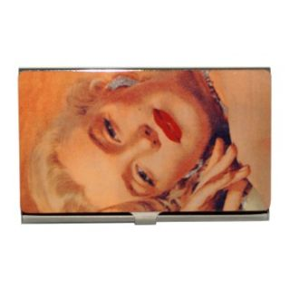 Marilyn Monroe Diamonds Movie Star Metal ID Business Card Holder