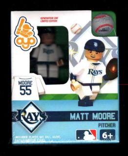Matt Moore OYO Lego Minifigure Minifig Baseball Gen 1 OYO161