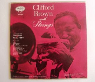Clifford Brown with Strings Record Max Roach Jazz LP Album Emarcy MG