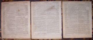 Geneva Quarto Roman Letter Bible Leaves/MATTHEW/1ST CORINTHIANS (2
