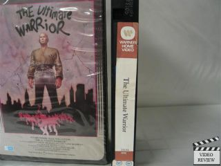 Ultimate Warrior The VHS Yul Brynner Max Von Sydow