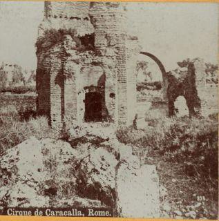 Ancient Structure Cirque de Caracalla Photo Rome Popular Series