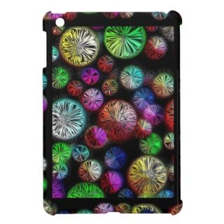 Abstract Colored Circles iPad Mini Case